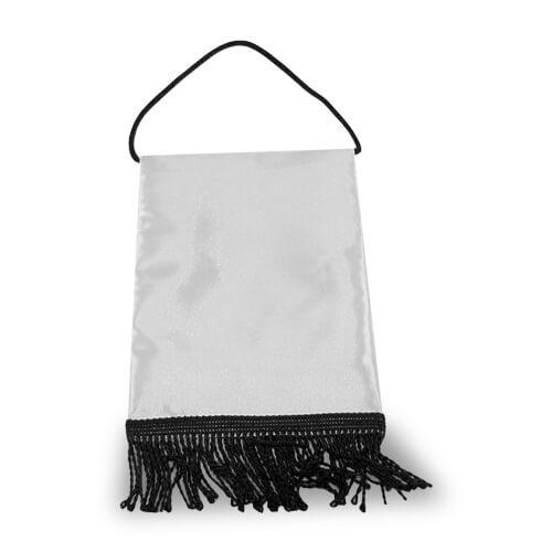 15 x 20 cm-es fekete asztali zászló szublimáláshoz, préseléshez