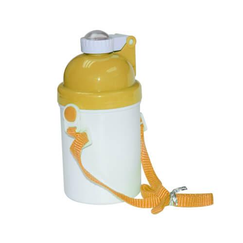 Sárga gyerek kulacs szublimáláshoz, préseléshez