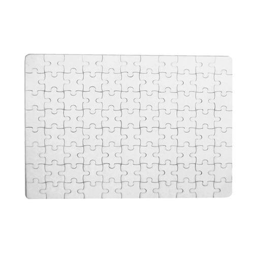 20 x 14 cm-es, 80 darabos puzzle szublimáláshoz, préseléshez