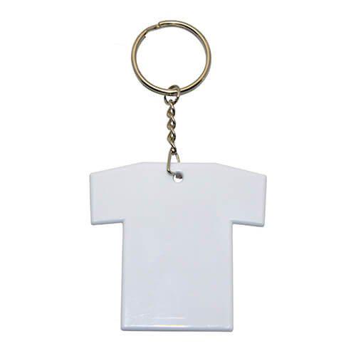Szublimálható fehér kulcstartó - Póló