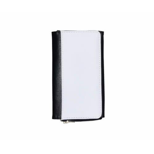 17,5 x 10,5 cm-es bőr pénztárca szublimáláshoz, préseléshez