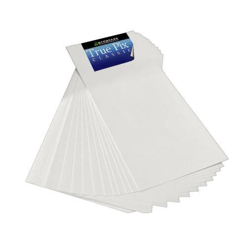 Szublimációs papír, TruePix, 238 x 98 mm, csomag (100 lap) szublimáláshoz, préseléshez