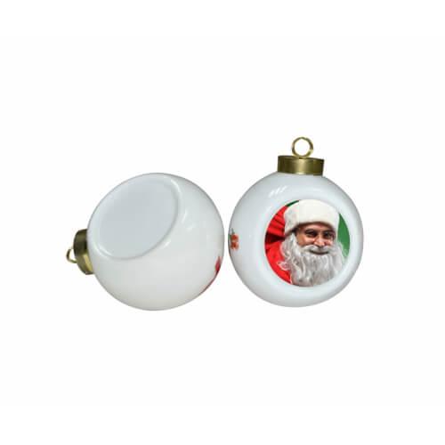 Karácsonyfa dísz, kerámiagömb szublimáláshoz, préseléshez