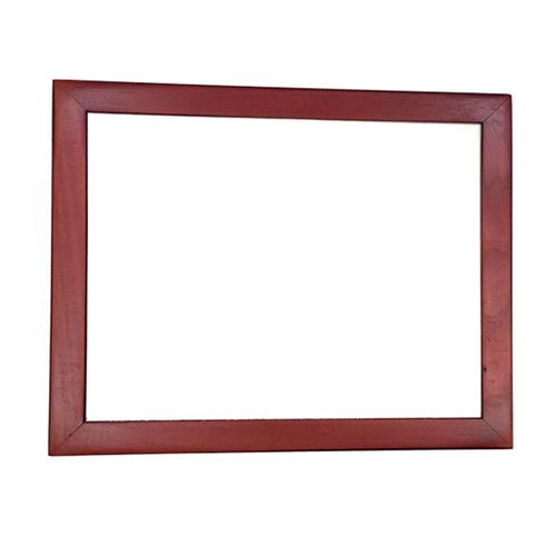 Szublimálható 24 x 19 cm-es sötétbarna fa fotókeret filccel