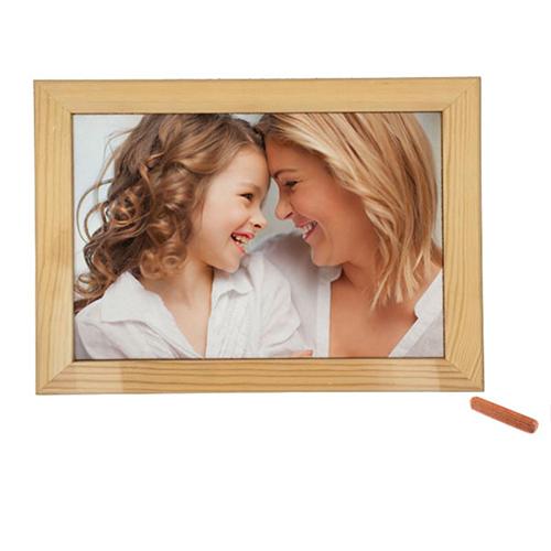 Szublimálható 24 x 19 cm-es fa fotókeret filccel