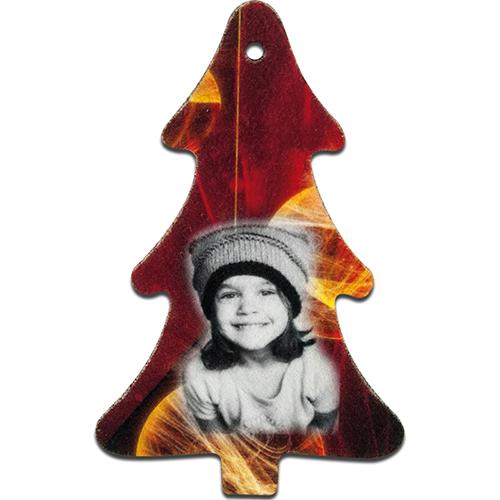 Szublimálható Filc karácsonyfa alakú dekoráció