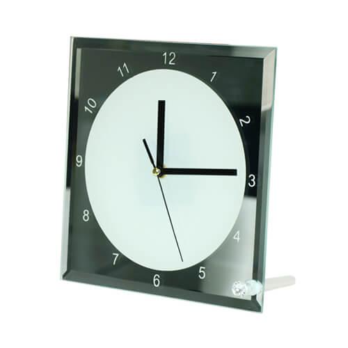 20 x 20 cm-es üvegkeret órára, szublimáláshoz, préseléshez
