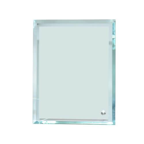 18 x 23 cm-es üveg fotókeret szublimáláshoz, préseléshez