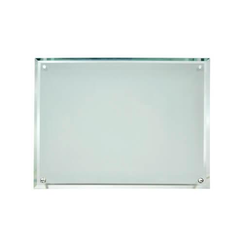 39 x 29 cm-es üveg fotókeret szublimáláshoz, préseléshez