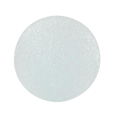 10 x 10 cm-es kerek üveg alátét szublimáláshoz, préseléshez