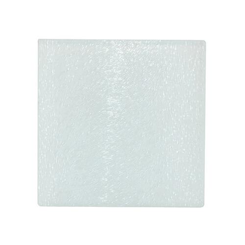 10 x 10 cm-es szögletes üveg alátét szublimáláshoz, préseléshez