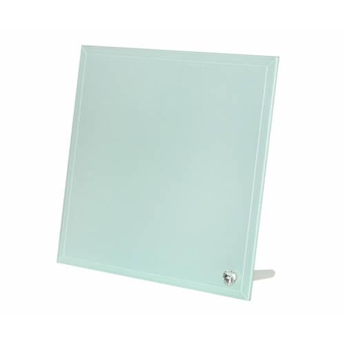 20 x 20 cm-es üveg fotókeret szublimáláshoz, préseléshez