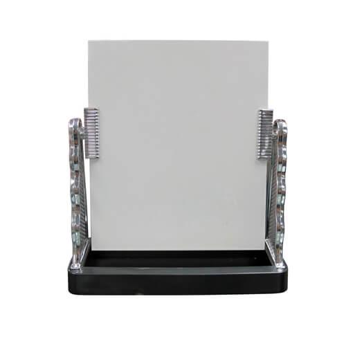 Üveg fotókeret ezüst színű oldalkerettel, szublimáláshoz, préseléshez