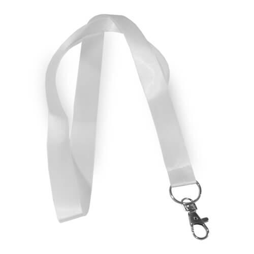 Fehér, 1,6 cm széles pánt szublimáláshoz, préseléshez