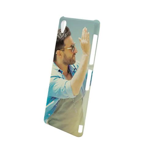 Sony Xperia Z3 L55u fényes fehér 3D tok szublimáláshoz, préseléshez