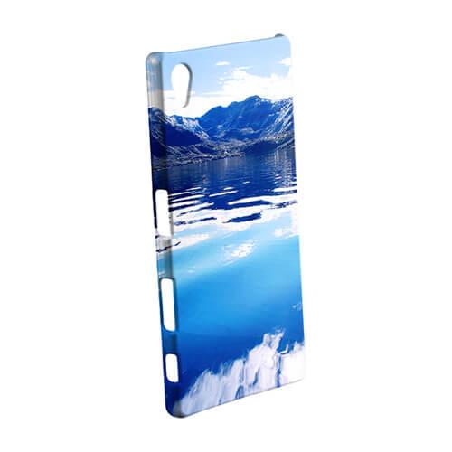 Sony Xperia Z5 fényes fehér 3D tok szublimáláshoz, préseléshez