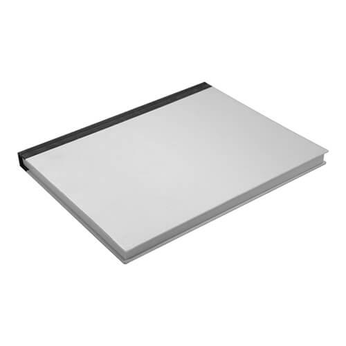 20,5 x 25,8 cm-es, 100 oldalas jegyzetfüzet szublimáláshoz, préseléshez