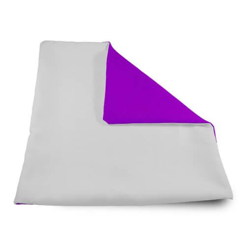 32 x 32 cm-es puha lila párnahuzat szublimáláshoz, préseléshez