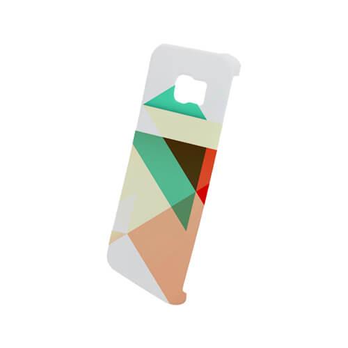 Samsung Galaxy S6 Edge matt fehér 3D tok szublimáláshoz, préseléshez