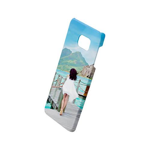 Samsung Galaxy Note 5 Edge fényes fehér 3D tok szublimáláshoz, préseléshez