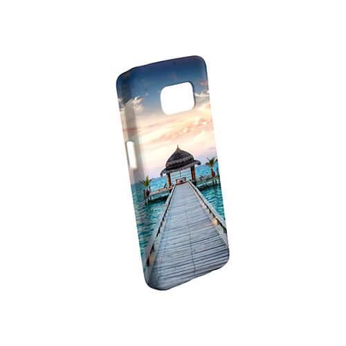Samsung Galaxy S7 G9300 fényes fehér 3D tok szublimáláshoz, préseléshez