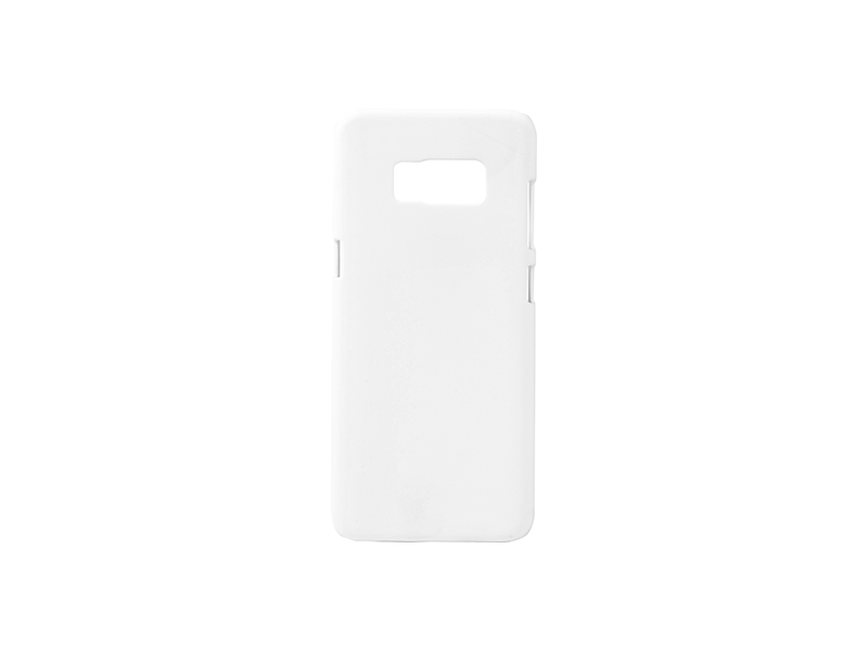 Samsung Galaxy S8 G9500 fényes fehér 3D tok szublimáláshoz, préseléshez