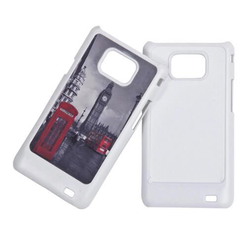 Samsung Galaxy S2 i9100 fehér műanyag tok szublimáláshoz, préseléshez