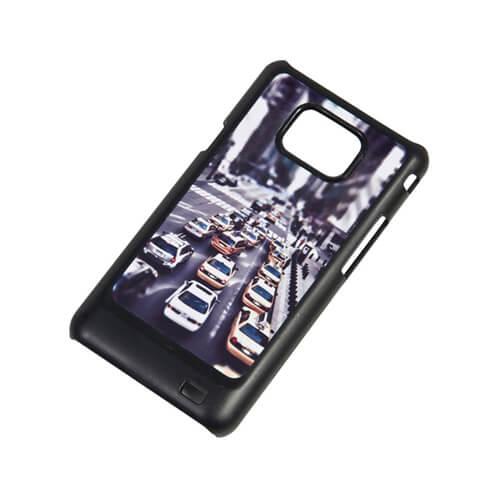Samsung Galaxy S2 i9100 fekete műanyag tok szublimáláshoz, préseléshez