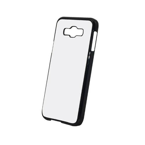 Samsung Galaxy E7 fekete műanyag tok szublimáláshoz, préseléshez