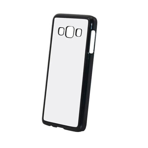 Samsung Galaxy A3 fekete műanyag tok szublimáláshoz, préseléshez