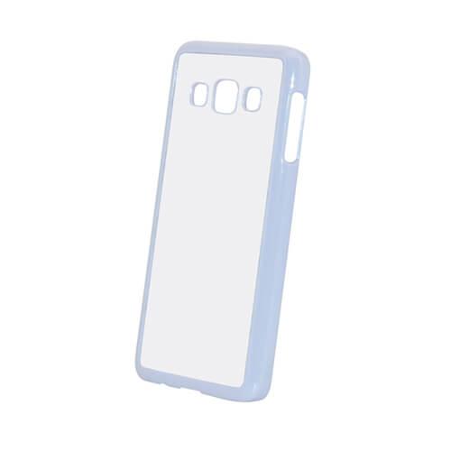 Samsung Galaxy A3 fehér műanyag tok szublimáláshoz, préseléshez