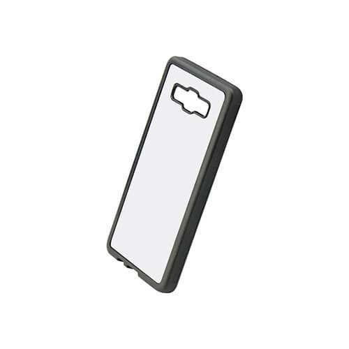 Samsung Galaxy A5 fekete gumi tok szublimáláshoz, préseléshez