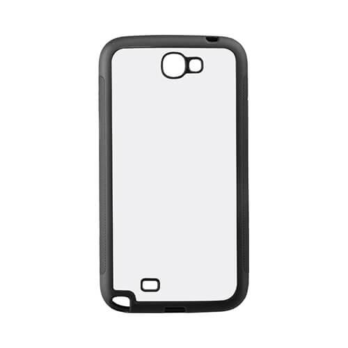 Samsung Galaxy Note 2 N7100 fekete gumi tok szublimáláshoz, préseléshez