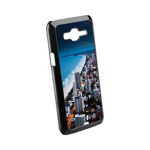 Samsung Galaxy J5 fekete műanyag tok szublimáláshoz, préseléshez