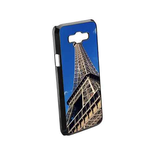 Samsung Galaxy J7 fekete műanyag tok szublimáláshoz, préseléshez