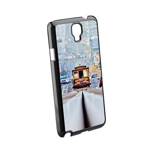 Samsung Galaxy Note 3 Neo fekete műanyag tok szublimáláshoz, préseléshez