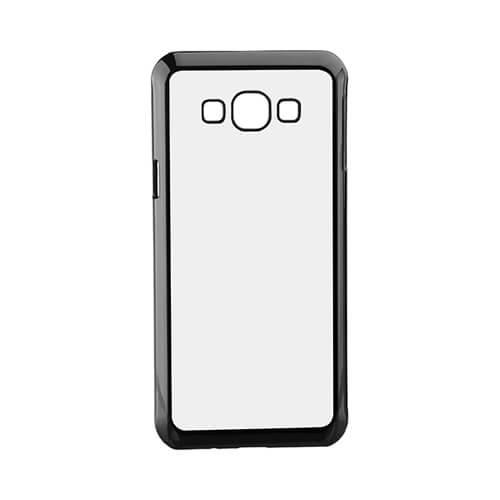 Samsung Galaxy A8 fekete műanyag tok szublimáláshoz, préseléshez