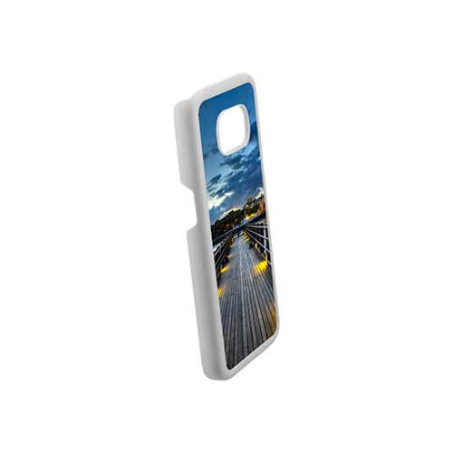 Samsung Galaxy S7 G9300 fehér műanyag tok szublimáláshoz, préseléshez