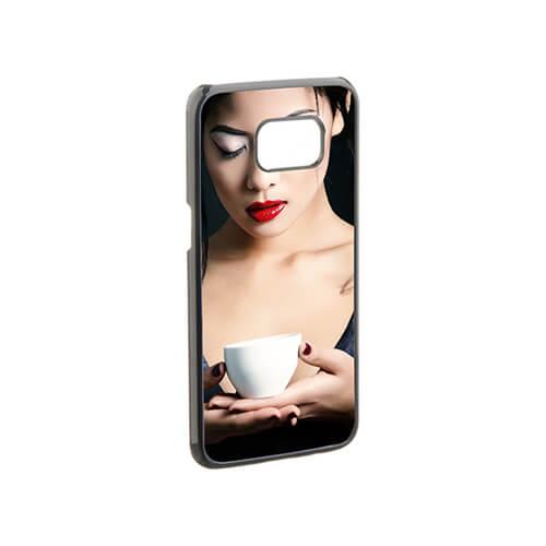 Samsung Galaxy S7 Edge G9350 fekete műanyag tok szublimáláshoz, préseléshez