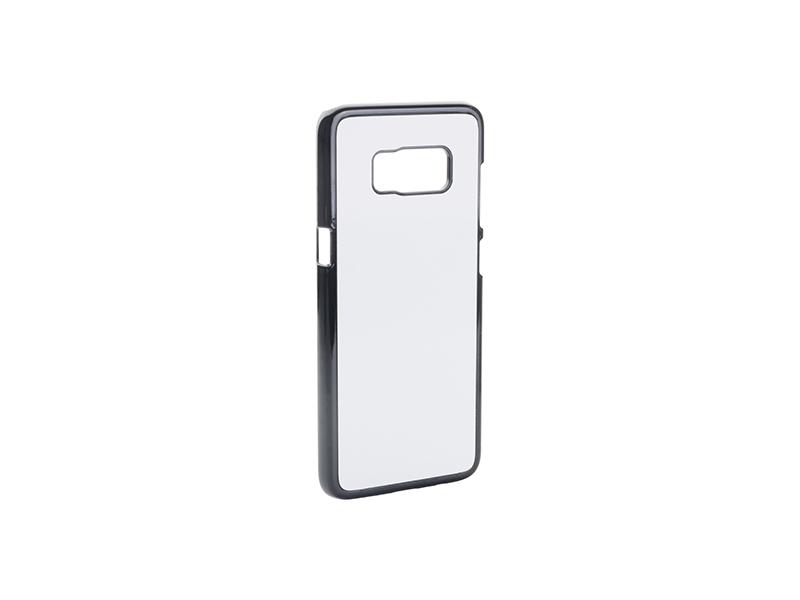 Samsung Galaxy S8 G9500 fekete műanyag tok szublimáláshoz, préseléshez