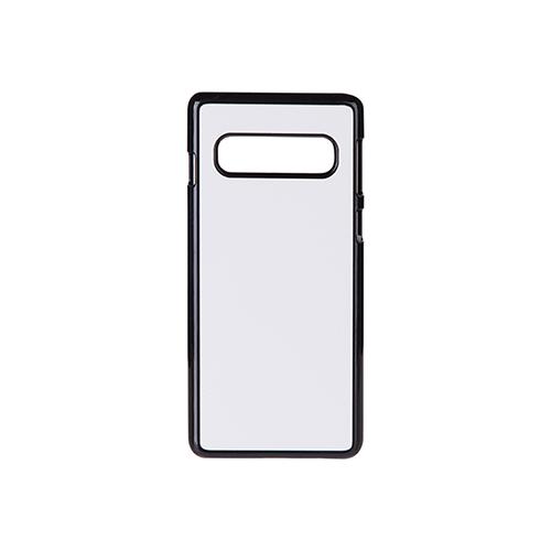 Szublimálható Samsung Galaxy S10 műanyag tok - fekete