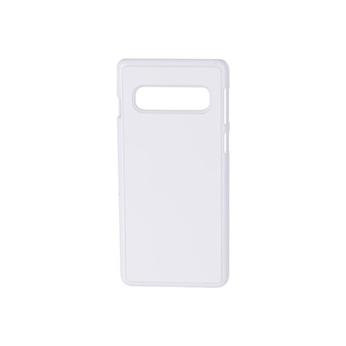 Szublimálható Samsung Galaxy S10 műanyag tok - fehér