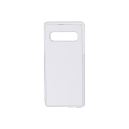 Szublimálható Samsung Galaxy S10 gumi tok - átlátszó