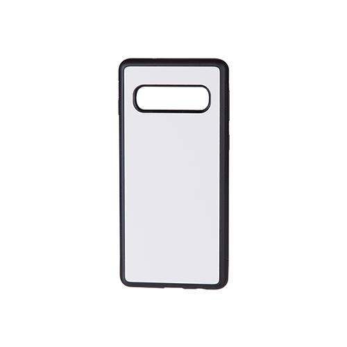 Szublimálható Samsung Galaxy S10 gumi tok - fekete