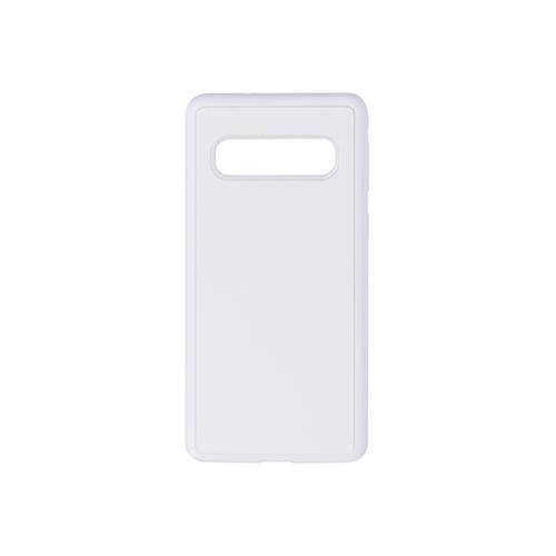 Szublimálható Samsung Galaxy S10 gumi tok - fehér