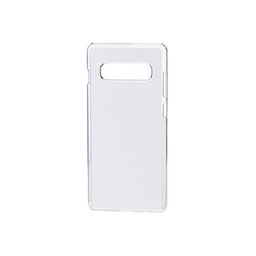 Szublimálható Samsung Galaxy S10+ műanyag tok - átlátszó