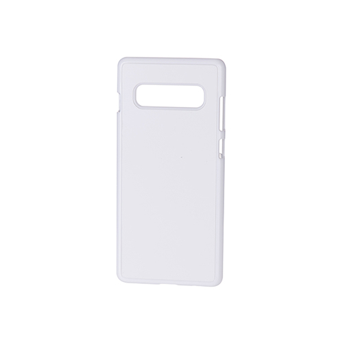 Szublimálható Samsung Galaxy S10+ műanyag tok - fehér