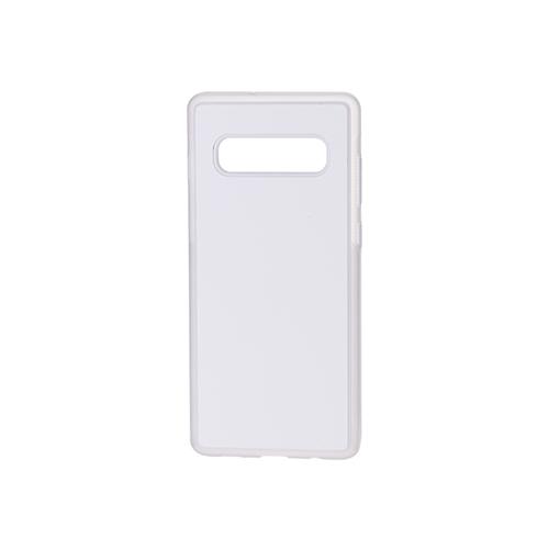 Szublimálható Samsung Galaxy S10+ gumi tok - átlátszó