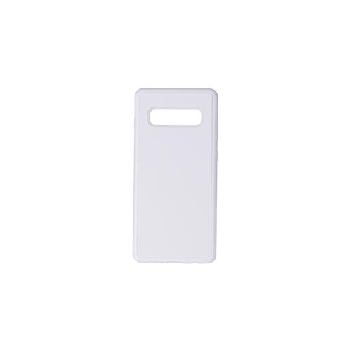 Szublimálható Samsung Galaxy S10+ gumi tok - fehér