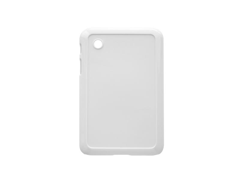 Samsung Galaxy Tab P3100 fehér műanyag tok szublimáláshoz, préseléshez